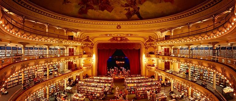 100-летний театр превратился в книжный магазин