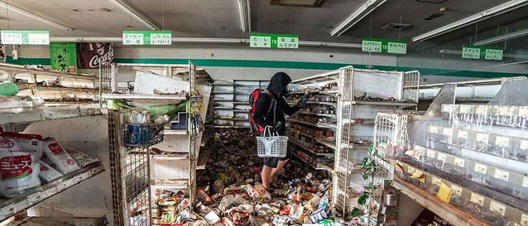 Фотографии зоны отчуждения Фукусимской АЭС, которые ранее не публиковались