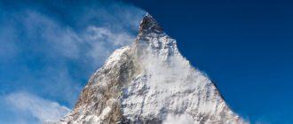 Зимние Швейцарские Альпы
