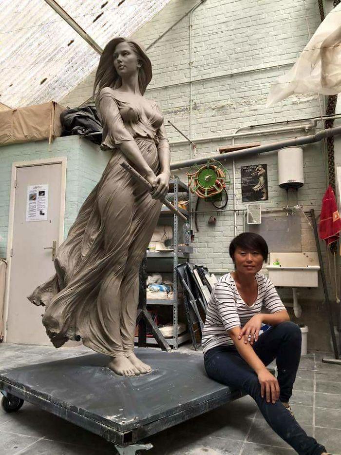 Работы Луо Ли Ронг