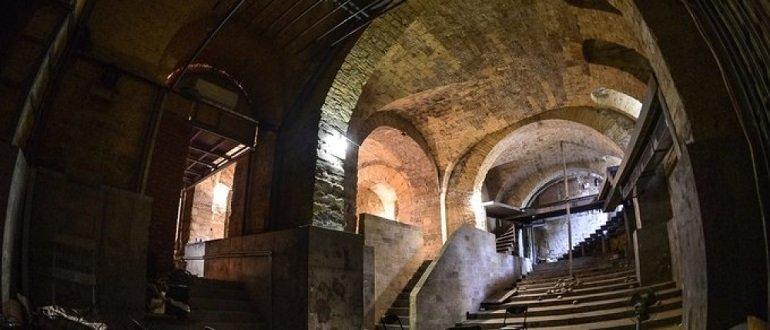 Подземный театр в Одессе
