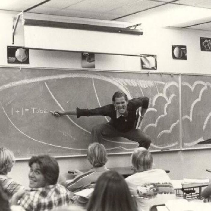 Мой отец учитель математики в Южной Калифорнии, конец 70-х - начало 80-х