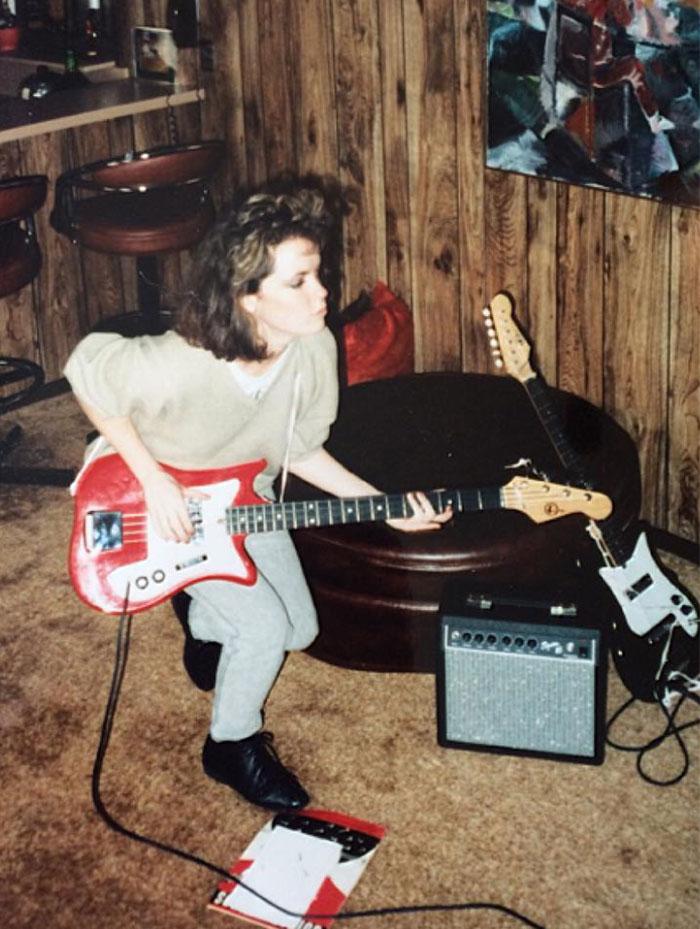 Моя мама в 1986
