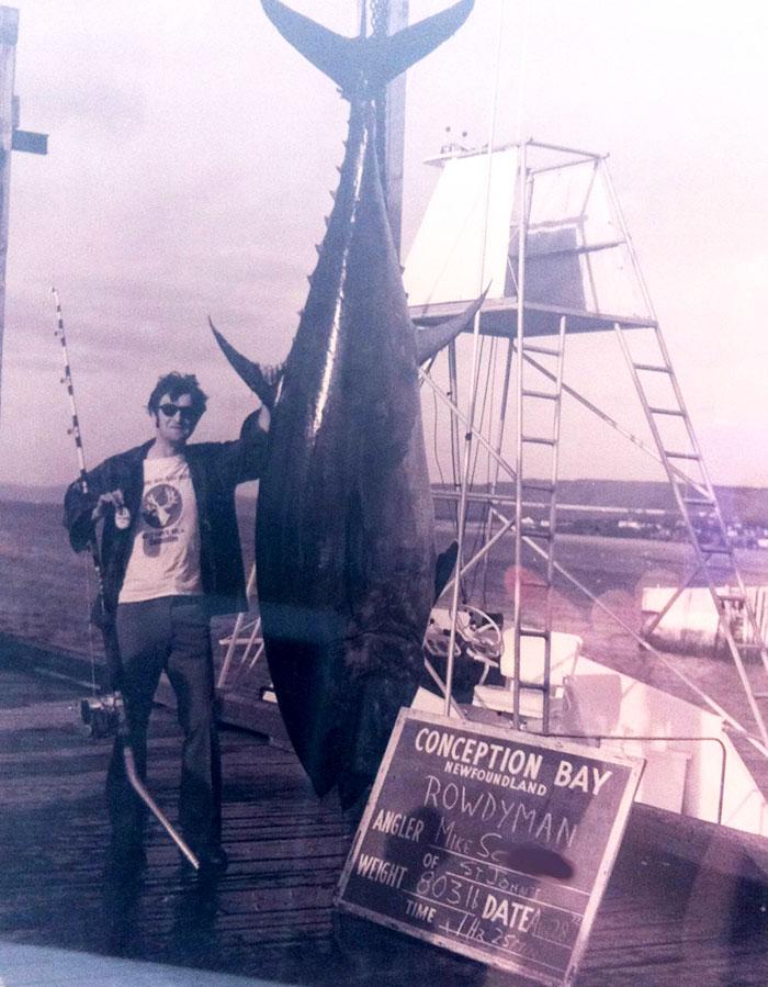 Мой отец и его улов, Ньюфаундленд, 1972