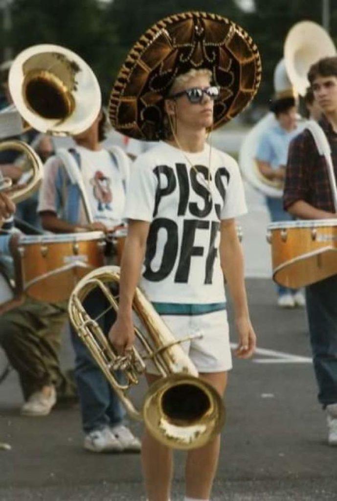 Мой отец на музыкальном параде