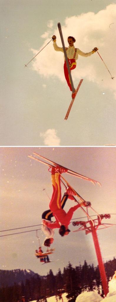 Мой отец был тренером по лыжам в 1970-х