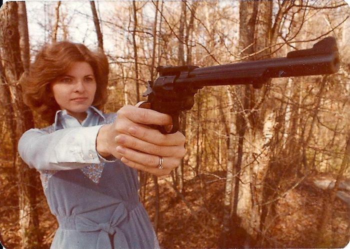 Мама в 1979