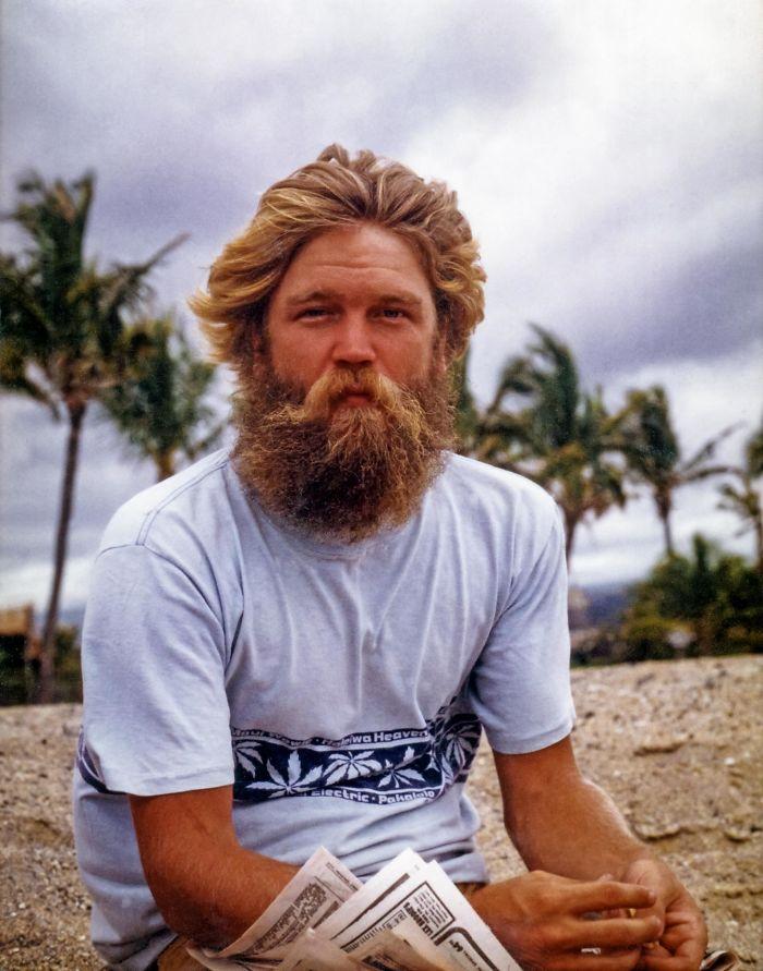Мой отец на Гавайях