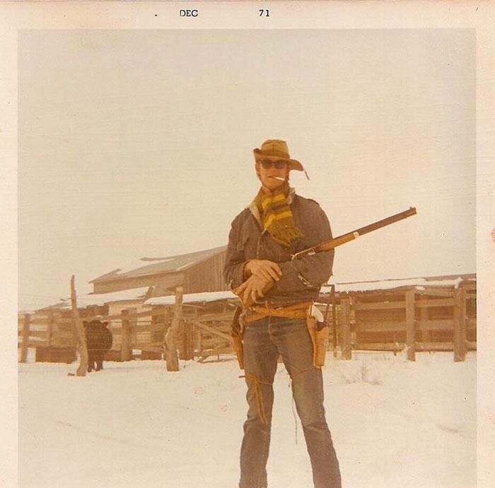 Отец в 1971