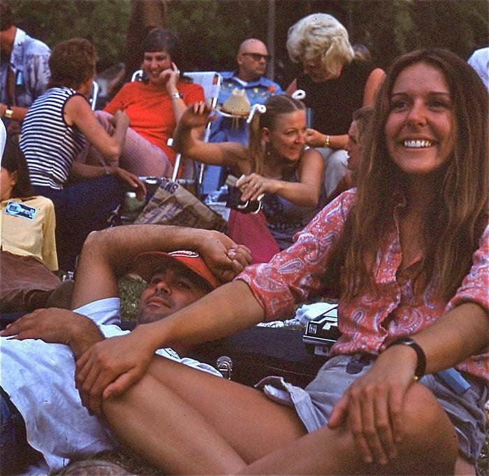 Мама не фестивале в Айдахо в 1973