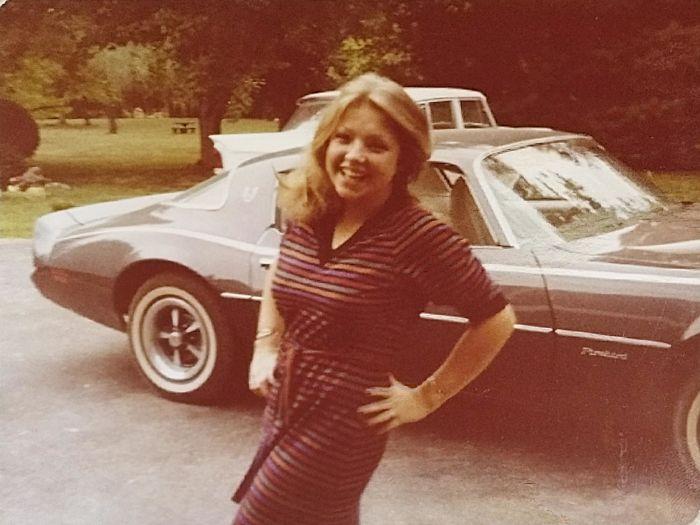 Моя крутая мама и ее Firebird, начало 80-х