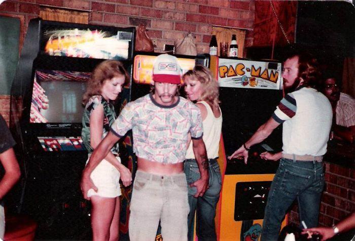 Я нашел это фото отца из 80-х, надеюсь, что мама его не видела