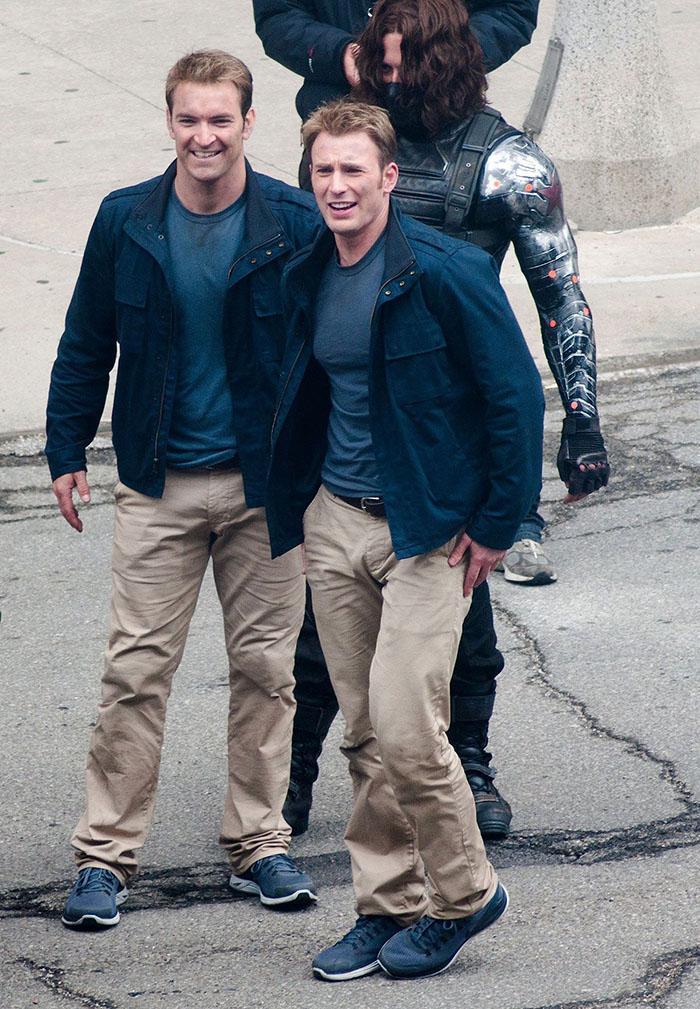 """13 актёров """"Мстителей"""" и их дублёры"""