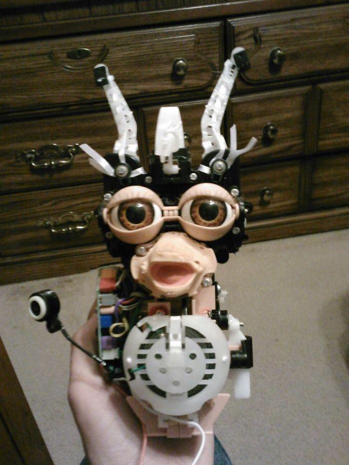 №36 Внутри Furby.