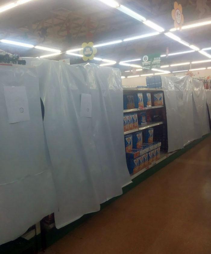 №52 Израильский супермаркет во время Пасхи. Строгий пост.