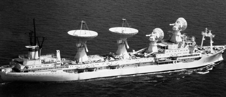 Морской космический флот СССР, которого нет