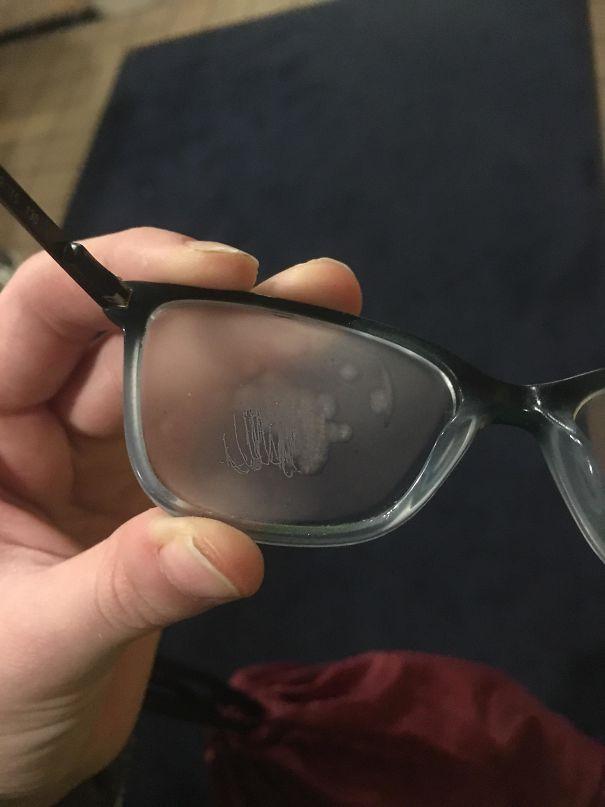 №4 Спустя 2 минуты мои очки покрылись льдом