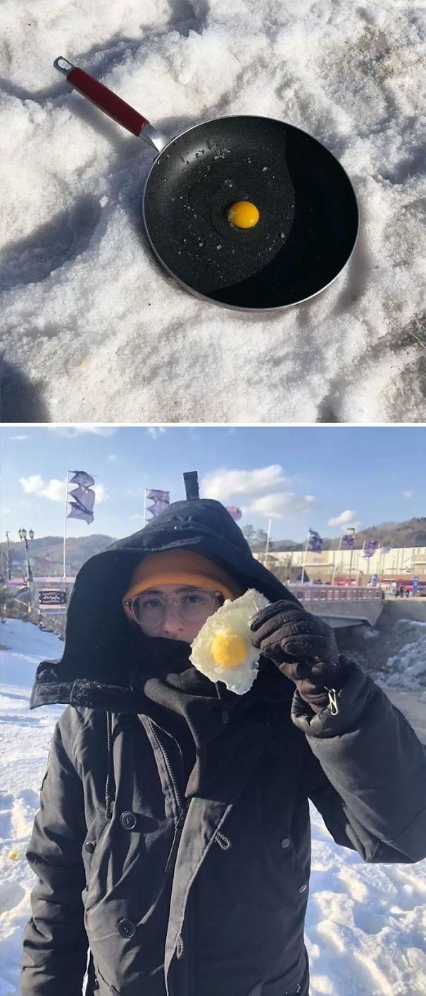 №10 Ледяная яичница